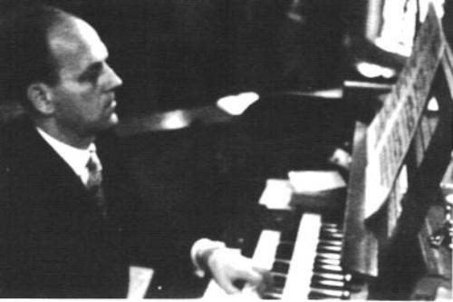 Chorleiter Alfred Röttger