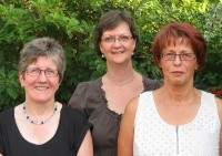 Von li nach re: Barbara Thomas, Anne Blasberg, Katharina Niemeyer