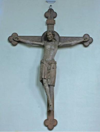 BUIDI Katholisches Kreuz Kruzifix Heiliges Wandbehang Kreuz Jesus Christus Kirche Religi/öser h/ängender Anh/änger