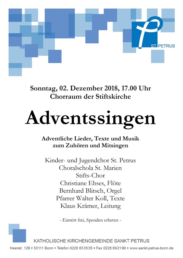 Adventssingen 2018