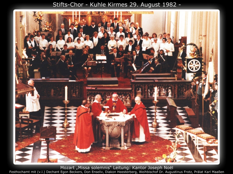 Stifts-Chor - Kuhle Kirmes 29. August 1982 -